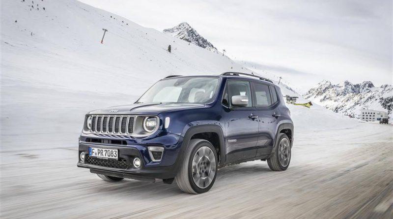 Jeep Renegade mit hoher Sicherheitsbewertung