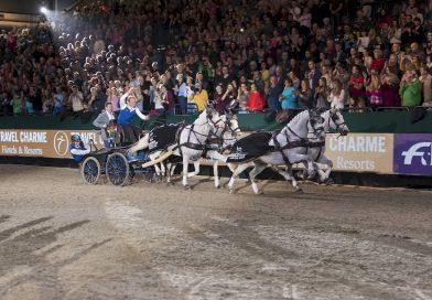 Fahrer Weltcup begeistert Leipziger Publikum