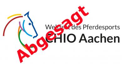 CHIO Aachen 2020 auf späteren Zeitpunkt im Jahr verschoben